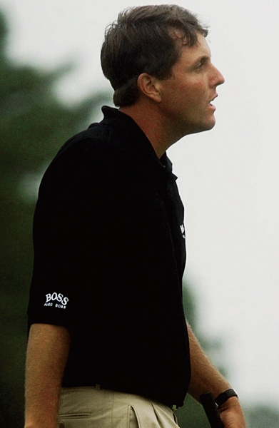 "VICTIM                                              Phil Mickelson                       1999                                              SITE: Pinehurst No. 2, Pinehurst, N.C.                                              Mickelson's U.S. Open heartbreak didn't begin at Winged Foot. In a thrilling and historic finish at Pinehurst, Payne Stewart rolled in a bending 15-footer for par at 18 to lasso the title from Lefty. ""I couldn't believe my eyes,"" Stewart said of his winning putt. Mickelson couldn't either."