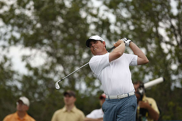 Justin Leonard made two bogeys in his final-round 69.
