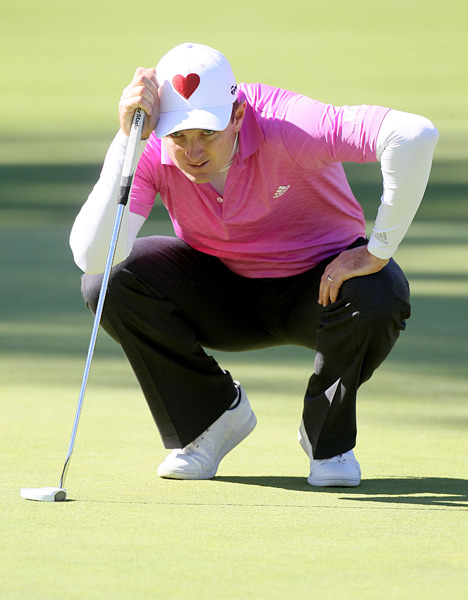 Justin Rose bested Johnson's score by one, tying with Luke Donald and Bubba Watson.