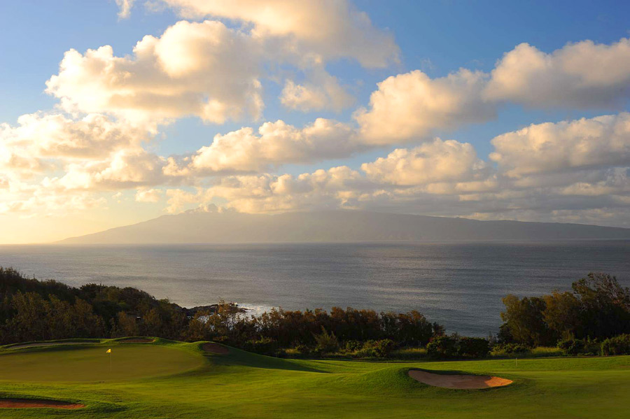 The Plantation Course, Kapalua Resort -- Kapalua, Maui, Hawaii -- kapalua.com                           After a long winter, few sights get a golfer chomping at the bit like the technicolor images broadcast in January from the western edge of Maui, where the Tour stages its first event each year. With its arresting views (Look, a pod of humpbacks!) and dramatic shifts in elevation, the Plantation Course is a Hawaiian postcard, rendered tantalizingly in 3D.