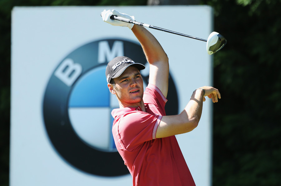 Martin Kaymer dropped out of contention after a four-over 76.