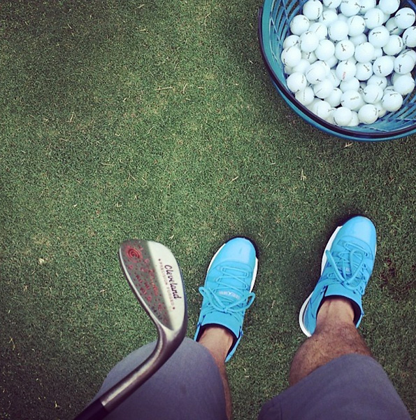 @KeeganBradley: Shoe game, wedge game on point