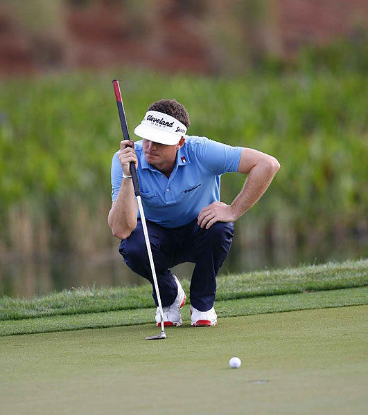 Keegan Bradley continued his good play with a three-under 67.