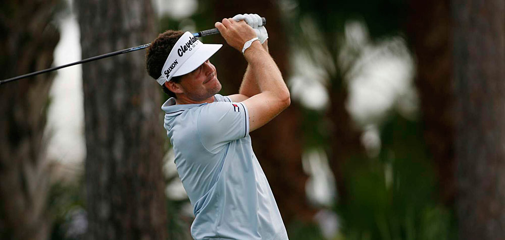 Keegan Bradley is back in contention after a two-under 68.