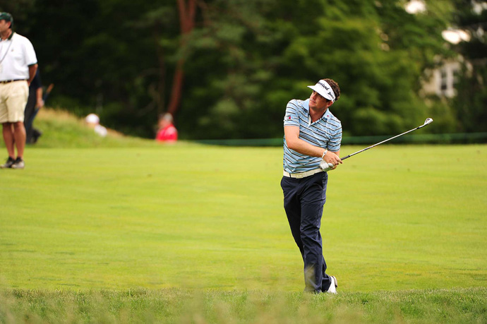 Keegan Bradley will also miss the cut after rounds of 77-75.