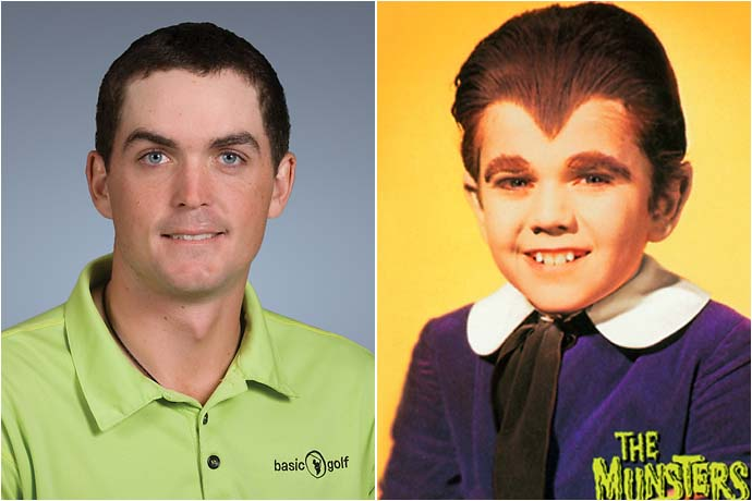 Keegan Bradley and Eddie Munster