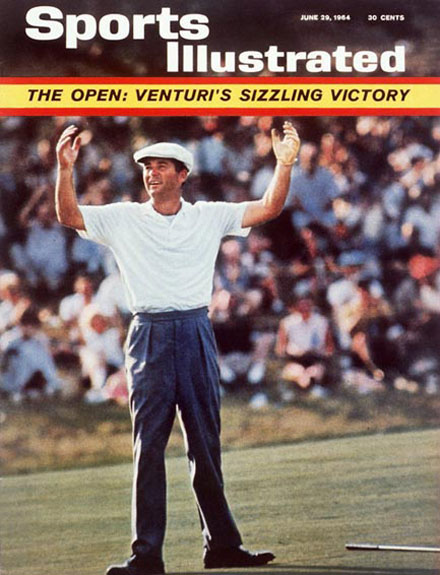 Ken Venturi wins the 1964 U.S. Open at Congressional, June 29, 1964