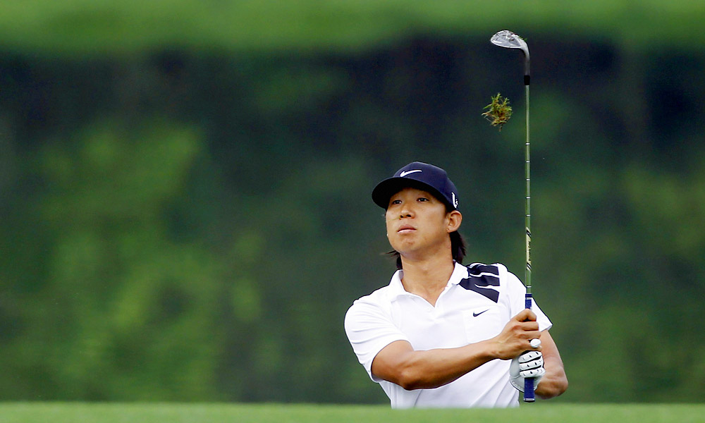 Anthony Kim withdrew from the tournament after completing his first-round 79 Friday morning.