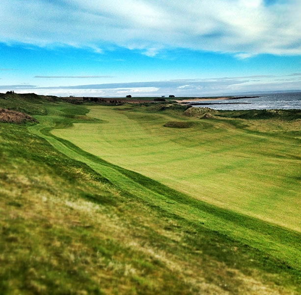 17. Kingsbarns, St. Andrews, Scotland: Co-host of the PGA European Tour's Alfred Dunhill Links Championship, this 1999 Kyle Phillips design 15 miles from the Old Course boasts a World Ranking of 55 and the respect of links fans everywhere.