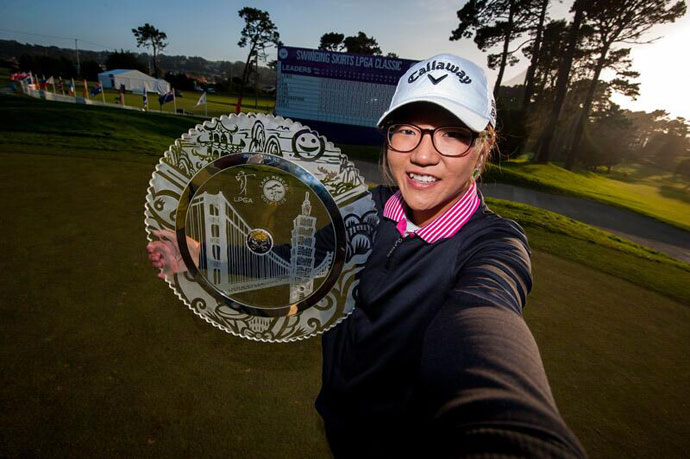 @LPGA: #LPGAWinnerSelfie with @Lko424 @SwingingSkirts