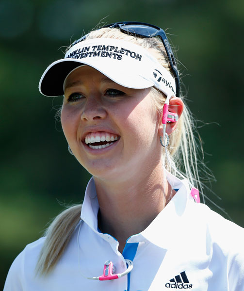 Jessica Korda, 21, has her only career top-10 finish in a major at the U.S. Open, where she finished tied for 7th last year. In that event, she fired her caddie during the third round and pulled her boyfriend from the audience to carry her bag.