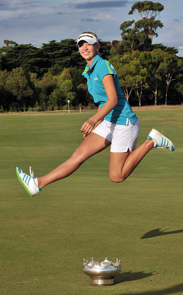 Jessica Korda                       Eighteen-year-old Korda prevailed in a six-player playoff to win the 2012 Women's Australian Open.
