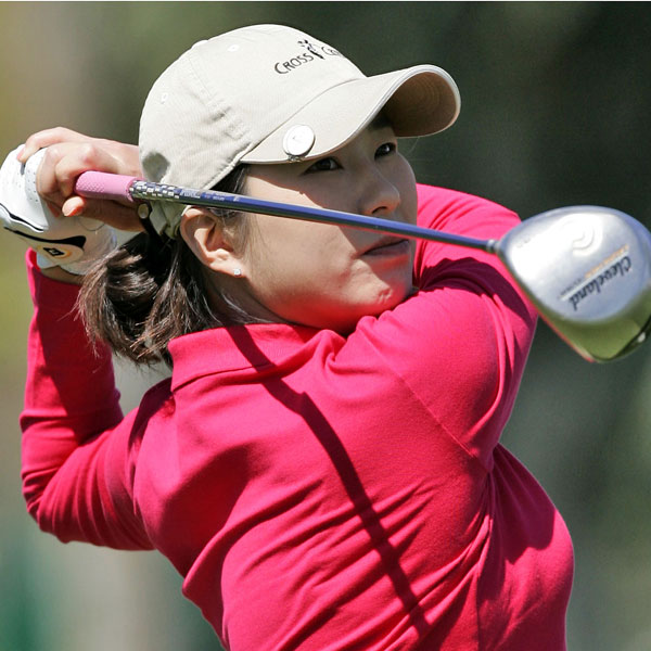 Korea's Shi Hyun Ahn made six birdies during her first round to put her in first place.