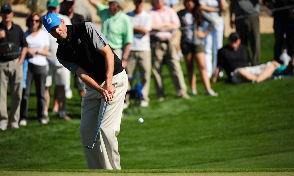 Matt Kuchar defeated Bubba Watson 3 and 2.