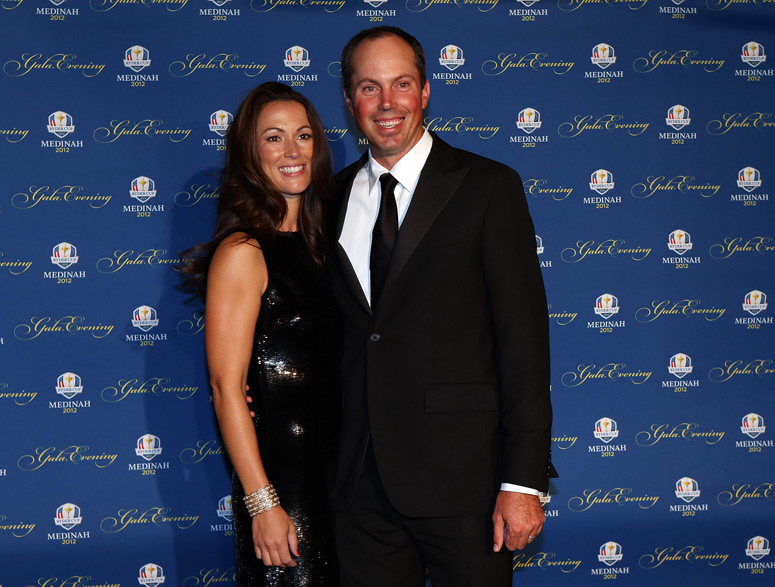 Matt Kuchar and his wife, Sybi.