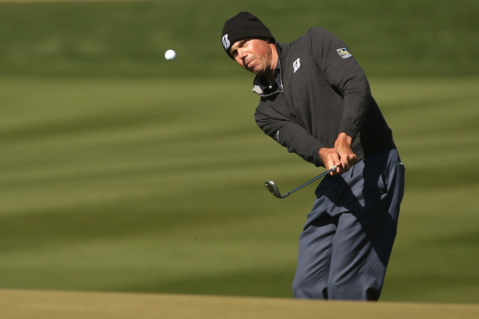 Matt Kuchar made six birdies in his 4-and-3 win over Nicolas Colsaerts.