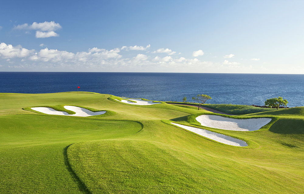 BEST NEW PRIVATE COURSE OF THE YEAR                       Kukui'ula                       Kauai, Hawaii