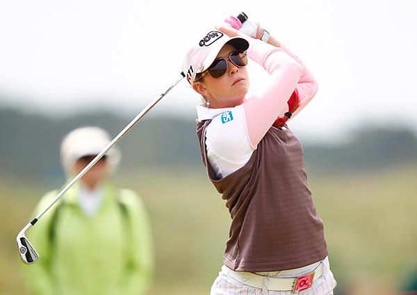 Paula Creamer stumbled to a 79 on Sunday and finished tied for 43rd.