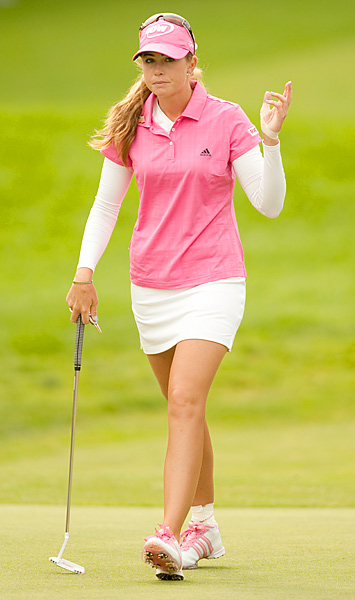 Paula Creamer finished tied for 15th after a final-round 72.