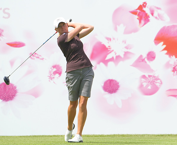 Stacy Lewis matched Miyazato with a 70 and finished alone in second place.