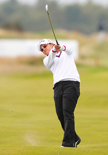 Yani Tseng shot a 69 on Sunday to finish at 16 under.