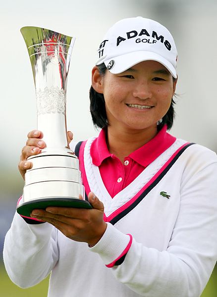 Yani Tseng rallied from a two-shot final-round deficit to win her fifth career major at the age of 22.