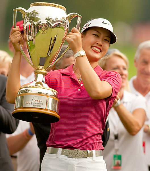 Wie earned $337,500 for winning the LPGA's only stop in Canada.
