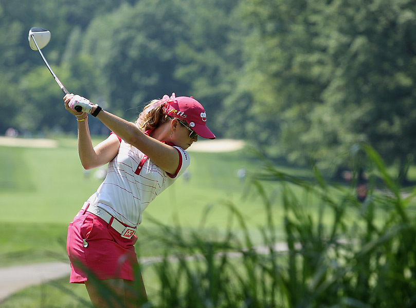 Paula Creamer shot a 71 and tied for ninth.