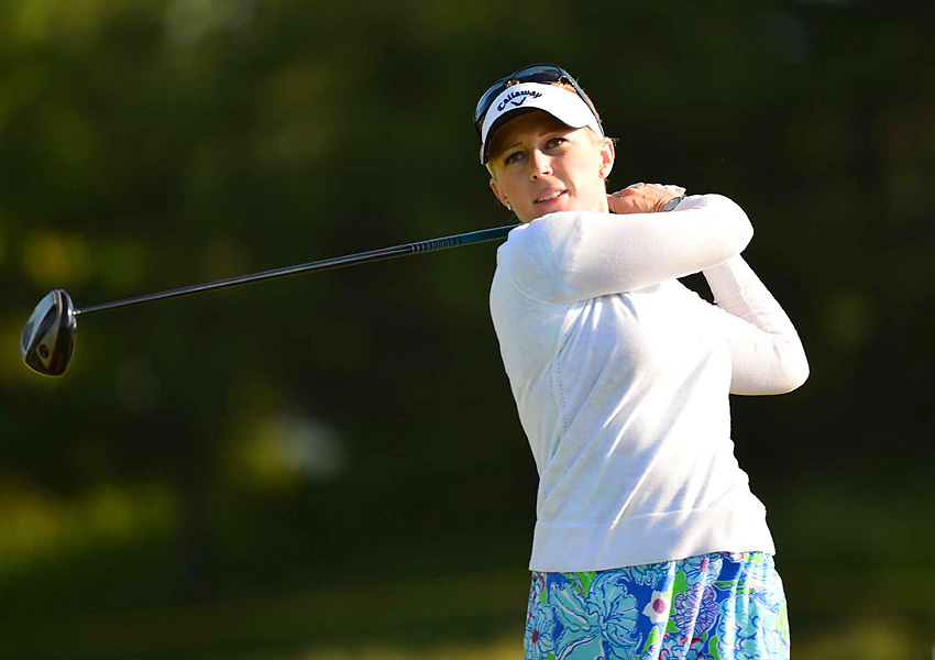 "Pressel had to forfeit the hole, and she teed off the 13th only leading by a hole, not three. She would go on to lose the match. ""It was tough timing because it was a really big, I think, turning point in the match, going from 2-up to 3-up, and then all of a sudden back to 1-up,"" said Pressel, who was on the verge of tears several times in a post-match news conference after she beat Vicky Hurst in the consolation match."