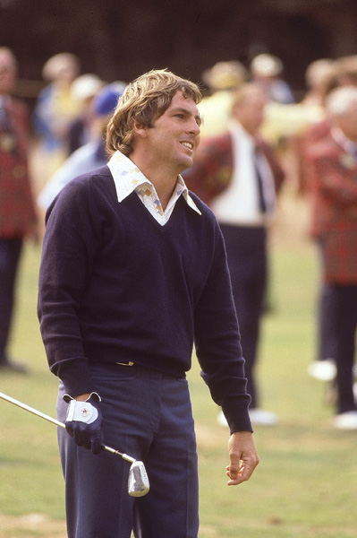 Lanny Wadkins Wins the First Sudden-Death Playoff in a Major Championship                           Of the six major championships staged at Pebble Beach, five have been U.S. Opens. The exception came in 1977 with a PGA Championship marked by singular moments. This was Lanny Wadkins' only major win, and the first stroke-play major championship decided in a sudden-death playoff. Wadkins beat Gene Littler on the third playoff hole.