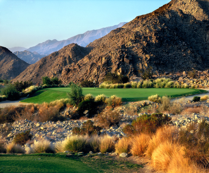 "La Quinta Resort (Mountain Course)                           La Quinta, Calif.                           laquintaresort.com                                                      Pete Says: ""Because the lower holes are in the floodplain, Lee Schmidt calls it 'the golf course built it a bathtub.'"""