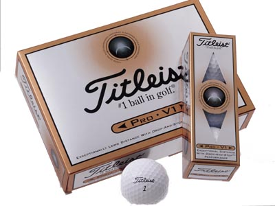 2000Urethane-covered three-piece ball                           Innovator: Titleist                                                      Tiger Woods switched from a wound-construction Titleist ball to a two-piece Nike in May 2000 and blew away the competition to win four straight majors through the 2001 Masters. But Titleist's answer, the Pro V1, proved more dominant than Tiger himself. With its superior mix of distance and control around the greens, the ball signaled doom for the wound ball as it became the industry leader almost the minute it entered the market in the fall of 2000.