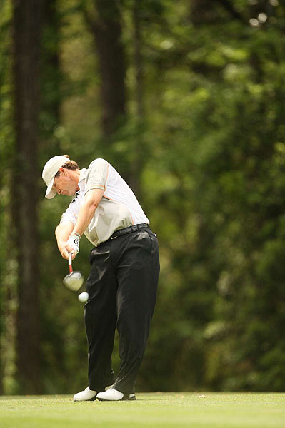 Lee Janzen opened with back-to-back bogeys and went on to shoot an even par 70.