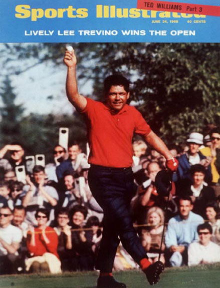 Lee Trevino wins the 1968 U.S. Open at Oak Hill, June 24, 1968