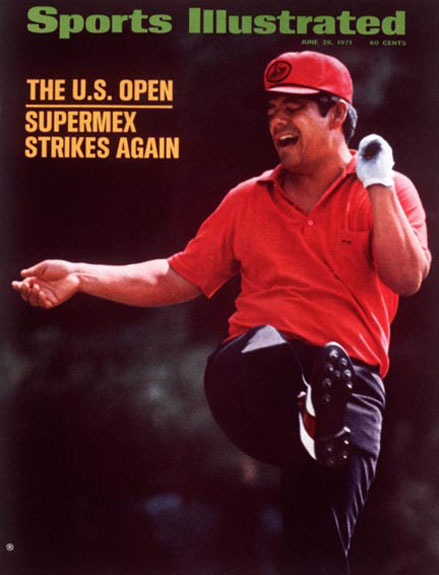 Lee Trevino wins the 1971 U.S. Open at Merion, June 28, 1971