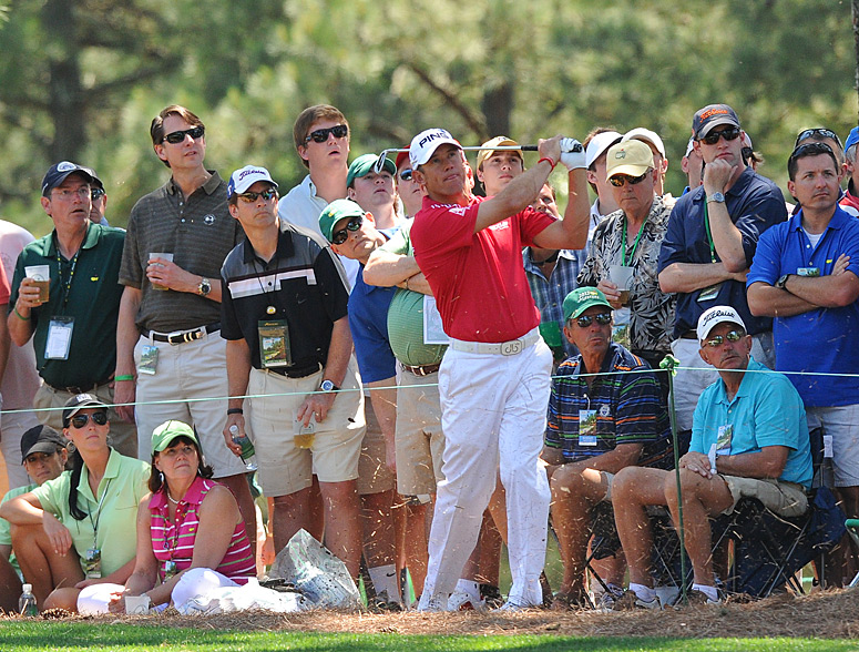 Lee Westwood made four birdies on the back nine to tie for third.