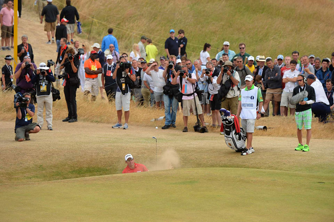 """""""I'm not too disappointed,"""" Westwood said. """"I don't really get disappointed with golf anymore."""""""