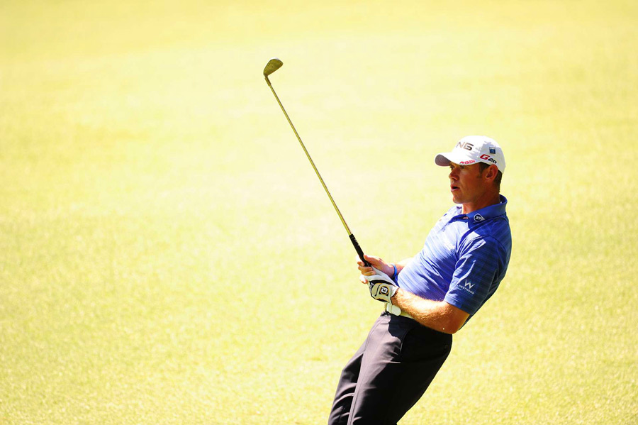 Lee Westwood still has a shot at his first major despite a 72 on Saturday.
