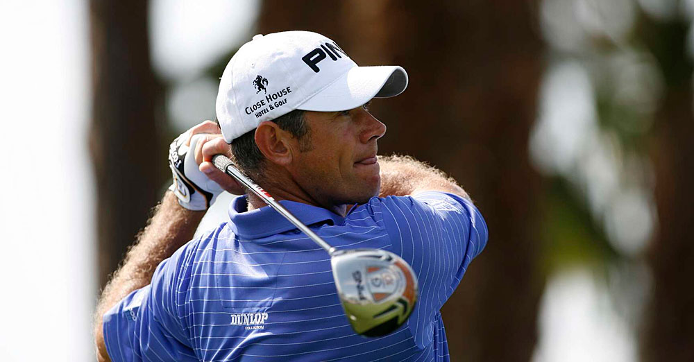 Lee Westwood made three birdies and three bogeys for a 70.