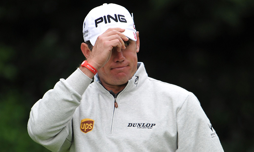 Englishman Lee Westwood carded five bogeys, four birdies and one double bogey for a disappointing 73 on Thursday.