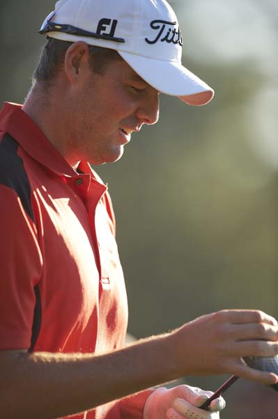 Marc Leishman: B+                       Cameron Morfit says:The affable, lumbering Aussie with the endearing, goofy grin acquitted himself nicely in his first legitimate shot at winning a major. Yes, the reigning Travelers champion got himself into the lead but couldn't find a way to stay there, but no, he didn't choke. He merely spun his wheels with a pair of even-par 72s on the weekend, which is a long way from terrible on a course that difficult and under immense pressure.