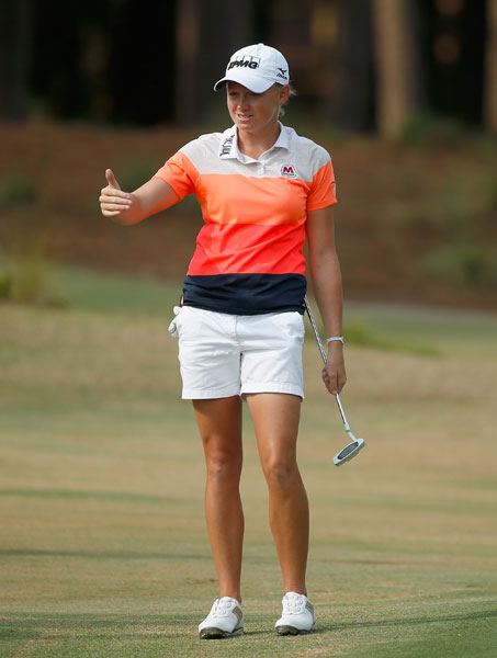 Stacy Lewis, 29, is the No. 1 player on the LPGA Tour. She was the 2012 Player of the Year and most recently won the Women's British Open.