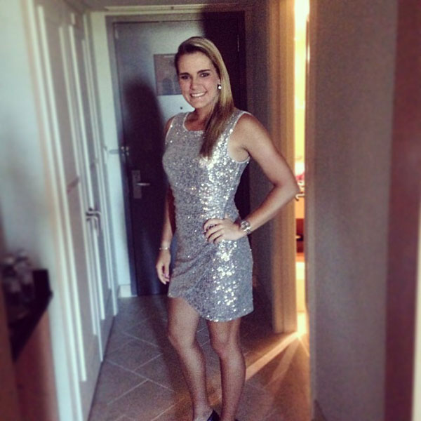 @Lexi: Sequenced dress for tonight:)#hanabankchampionship