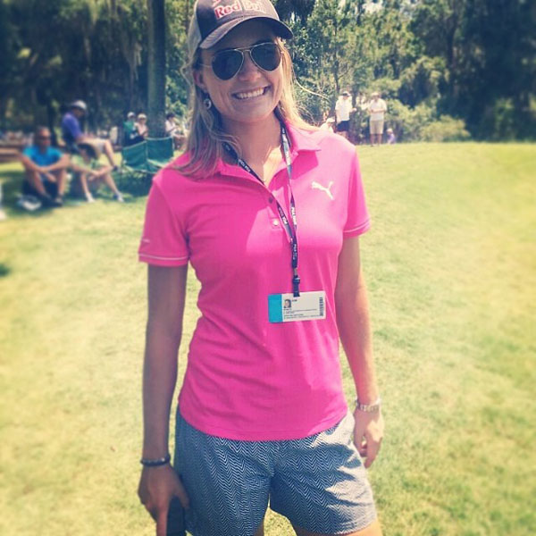 @Lexi: Out watching my brother @lexithompsonsbrother in the @theplayerschamp :)