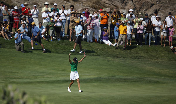 Final Round of the Corona Championship                       Lorena Ochoa successfully defended her title at the Corona Championship Sunday.