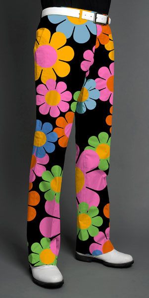 Loudmouth, Magic Bus print golf pants, ($95, Buy it Now)