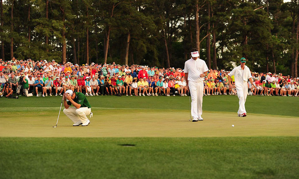 Oosthuizen and Watson missed their putts on 18 and went to No. 10 for a second playoff hole.