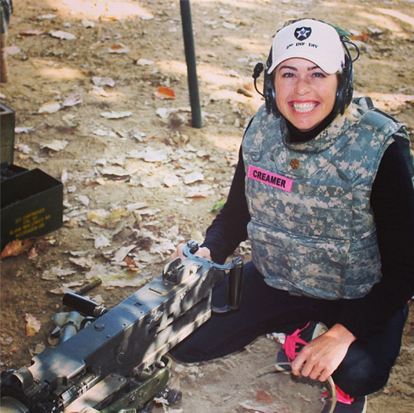@lpga_tour Paula Creamer visits the troops in South Korea at Camp Red Cloud #PCVisit2ID