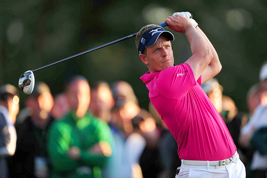 World No. 1 Luke Donald made the cut by one stroke.