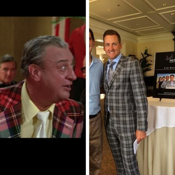 @LukeDonald                           .@IanJamesPoulter Al Cervik wants his suit back!